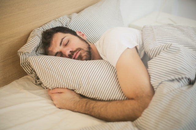 Sleep well to stay healthy at home